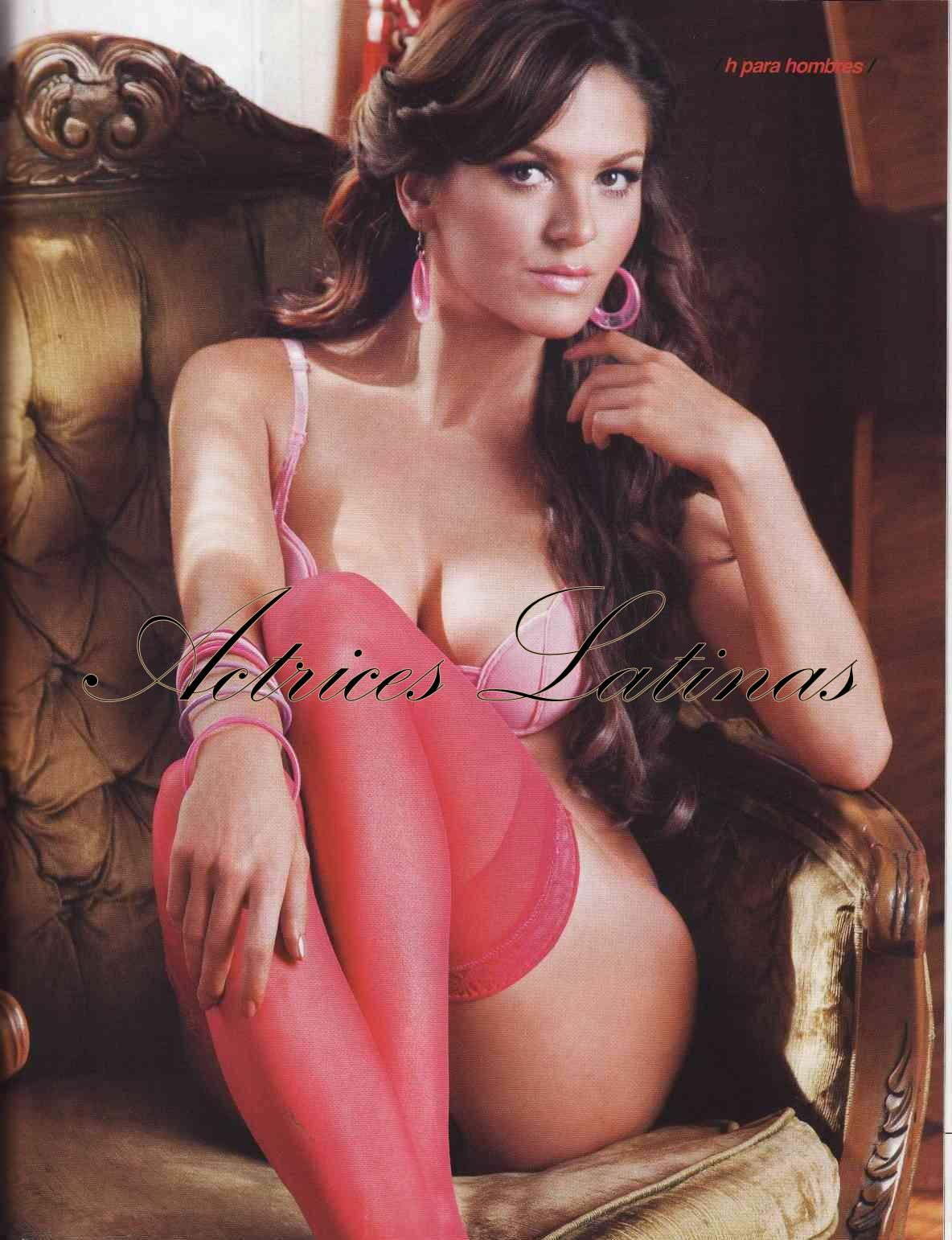 Marlene favela lenceria en revista h - 3 3