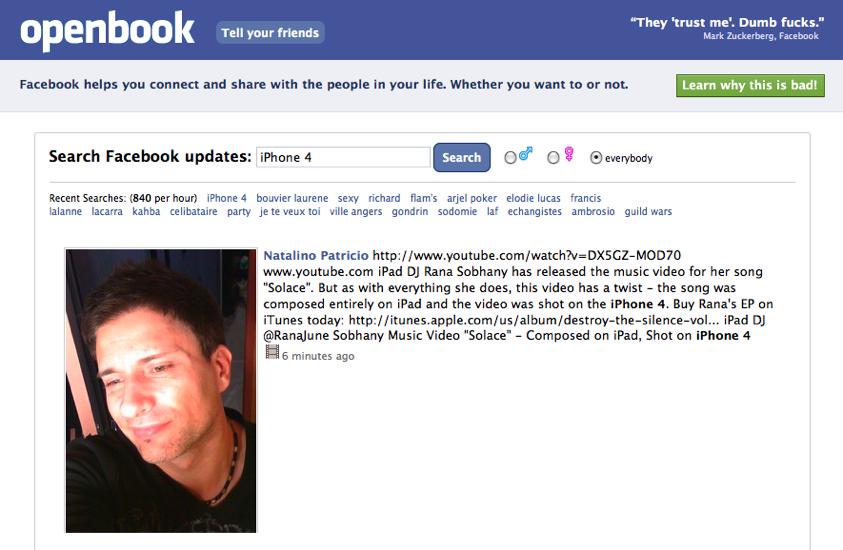 Voir profil badoo sans etre inscrit