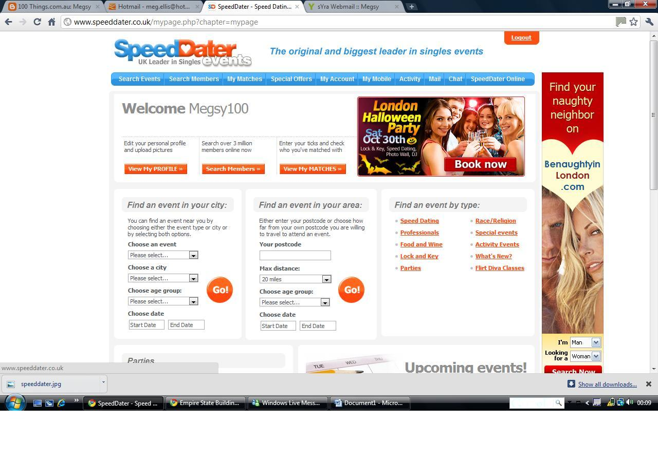 Whether you re into serious dating or just want to make new friends, SpeedDater will help you to mee