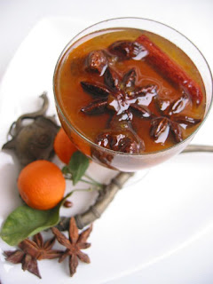 Star anise archives passionate about baking for Spiced cranberry sauce with orange and star anise