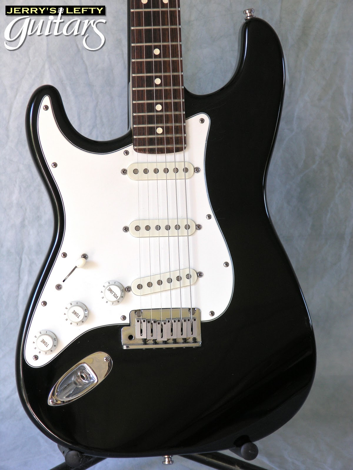 jerry 39 s lefty guitars newest guitar arrivals updated weekly fender standard strat 1990 usa. Black Bedroom Furniture Sets. Home Design Ideas