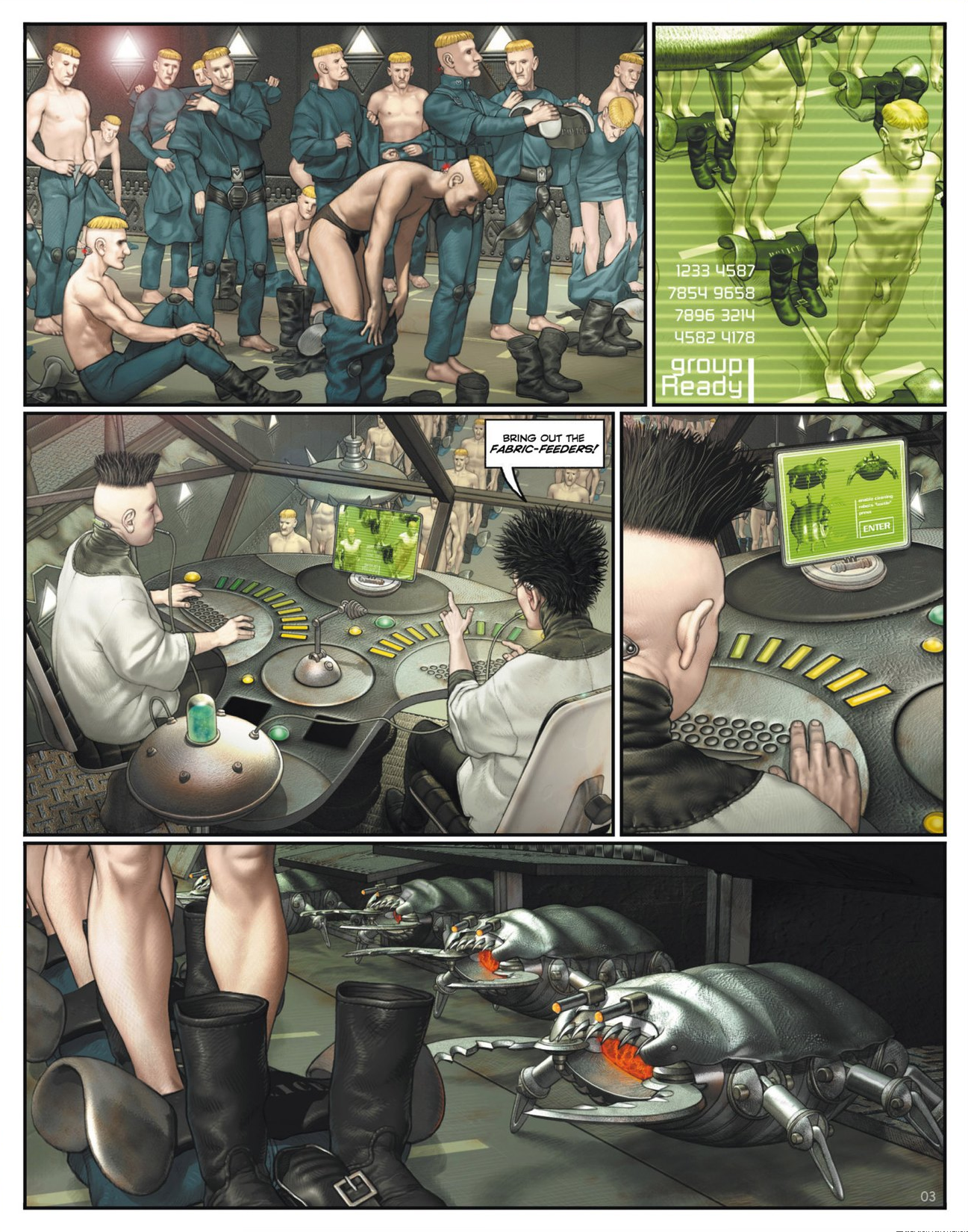 Read online Megalex (2014) comic -  Issue #1 - 8