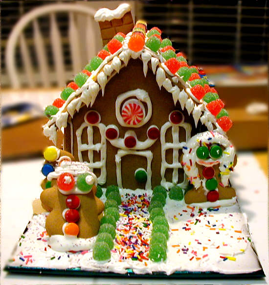 Cute And Sassy Designs By Bonnie: Gingerbread Houses