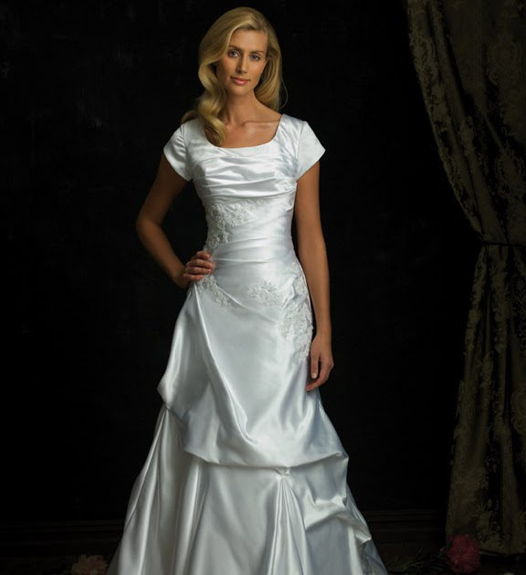 Allure Modest Wedding Gowns: The Christian Wedding Blog: Wedding Dresses From Allure