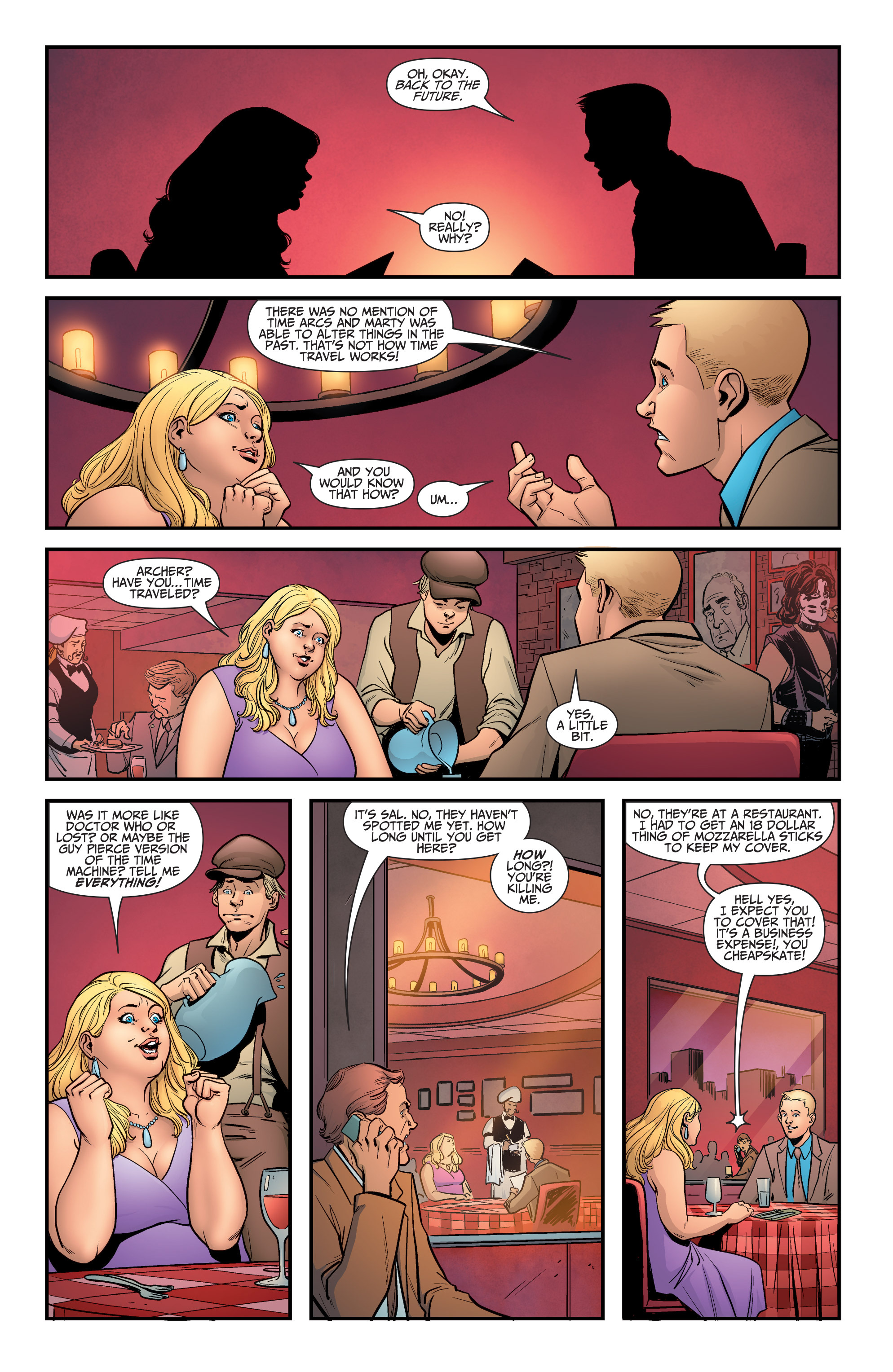 Read online A&A: The Adventures of Archer & Armstrong comic -  Issue #5 - 8
