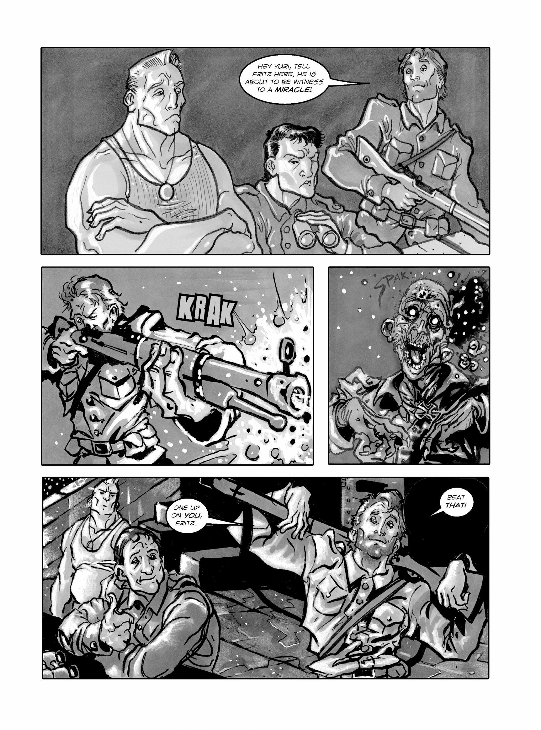 Read online FUBAR comic -  Issue #1 - 99