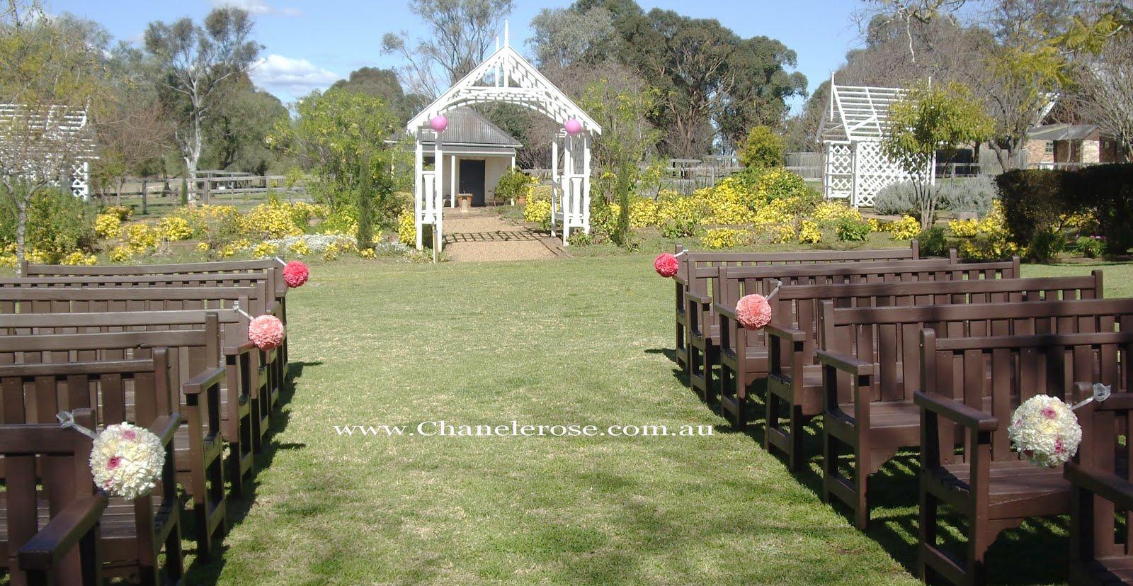 Gorgeous Wedding Ceremonies: Chanele Rose Flowers Blog- Sydney Wedding Stylist