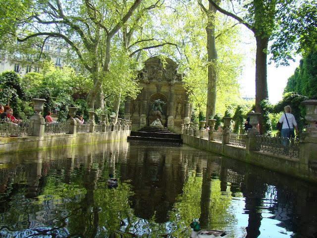 Jardines de Luxemburgo, Luco, París, Elisa N, Blog de Viajes Argentina