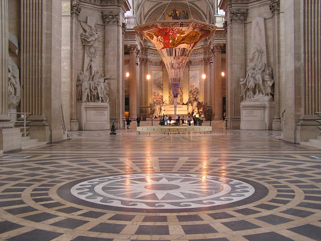 Pantheon, Pendule de Foucault, París, Elisa N, Blog de Viajes, Lifestyle, Travel