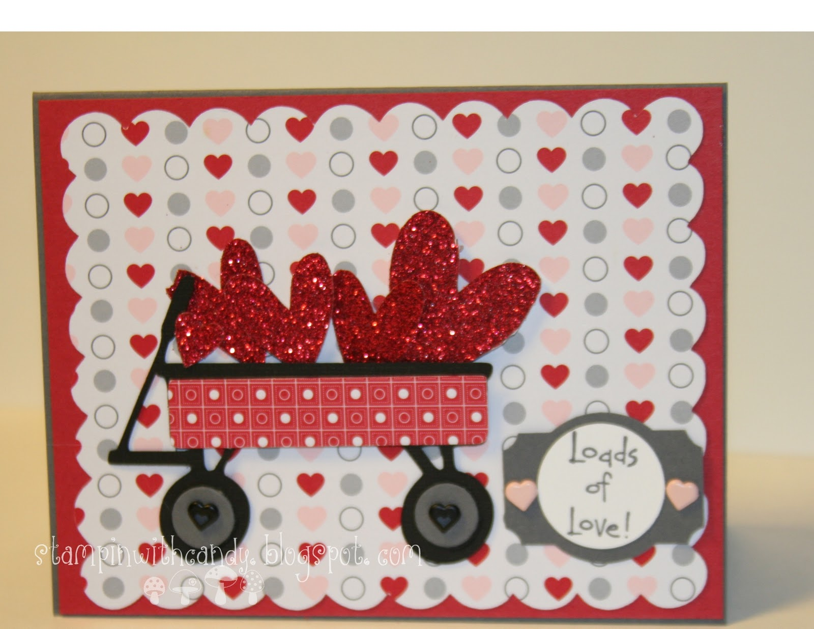 Stampin With Candy Kids Valentine Just Because Cards Gypsy