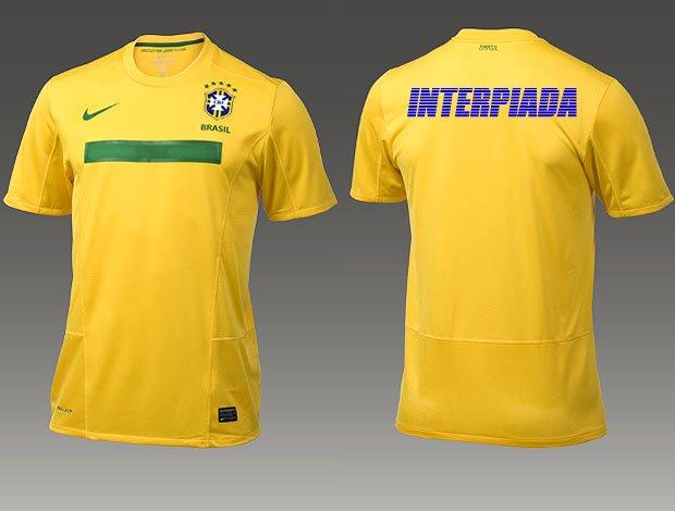 2e4b8e4e53141 INTERPIADA  Nova camisa bagaceira da seleção