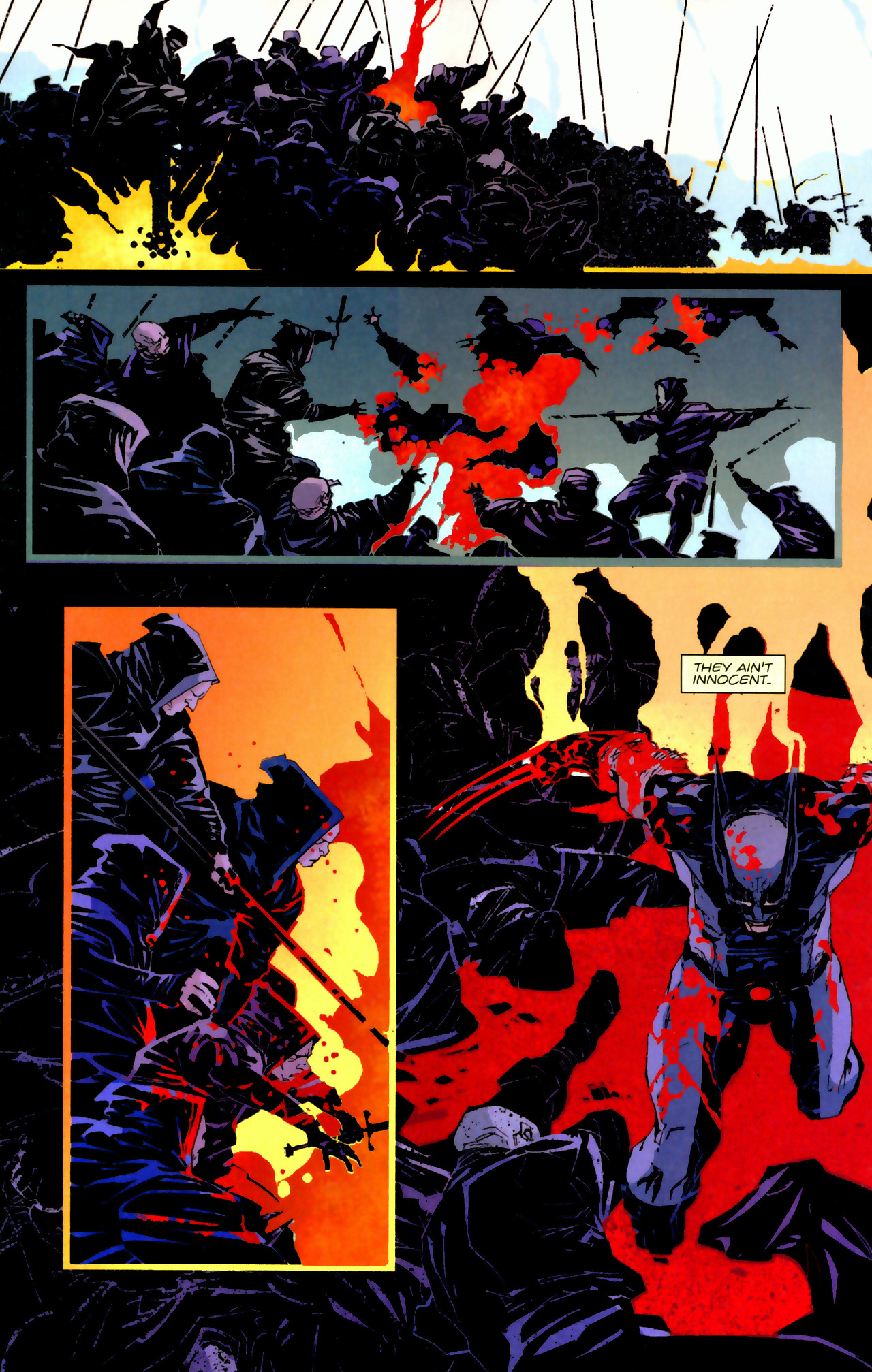 Read online X-Force Special: Ain't No Dog comic -  Issue # Full - 16