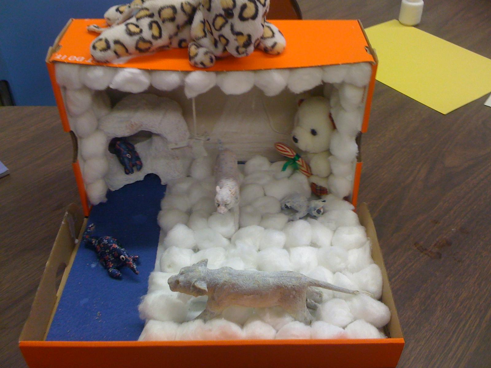 Kids Diorama With Details: Mrs. Cardoso's Class: September 2010