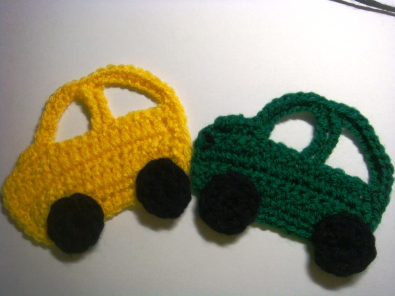 Amurushka Car Appliqu 233 Crochet Pattern
