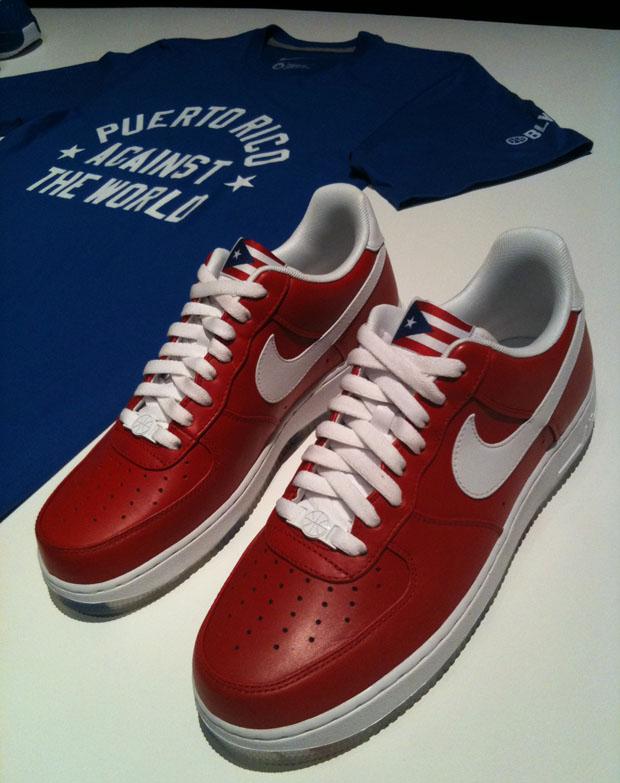 "Zapas 68: Nike Air Force 1 ""WBF"" Puerto Rico !!"