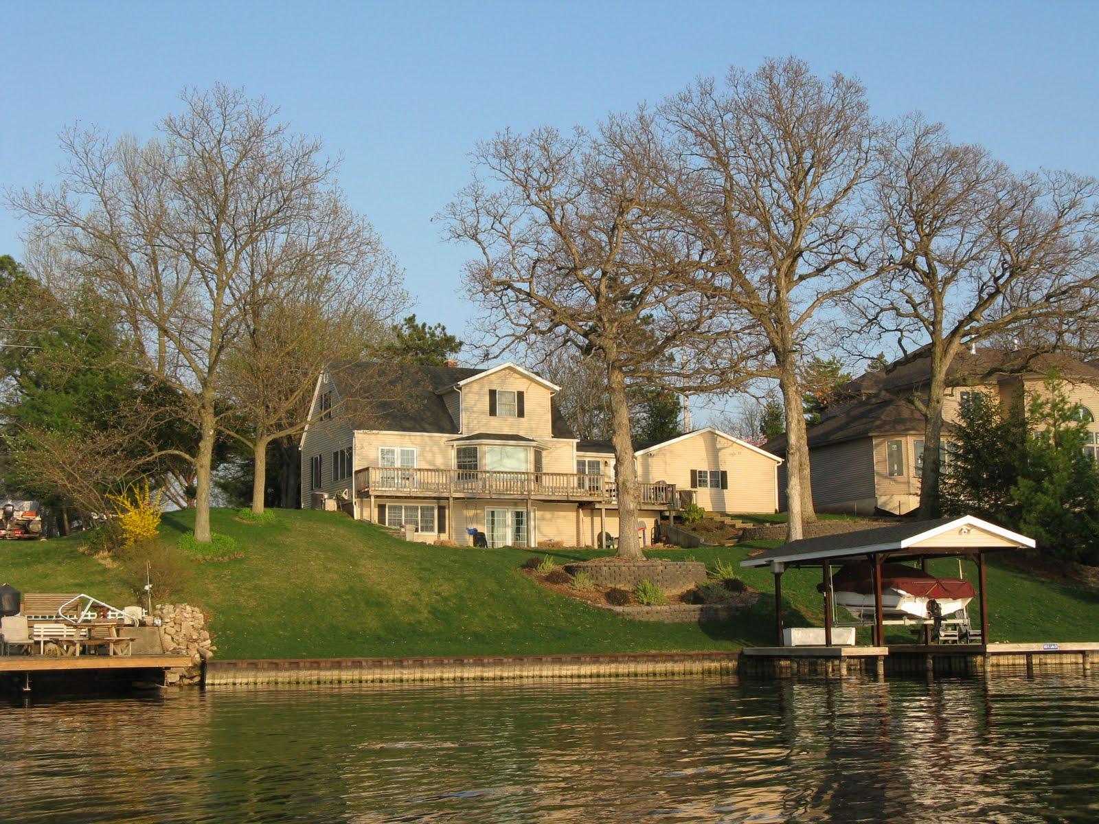 Lake Springfield Il Lake Home