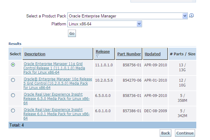 Oracle Grid Control 11g (11 1 0 1 0) for Linux available ~ Dirk