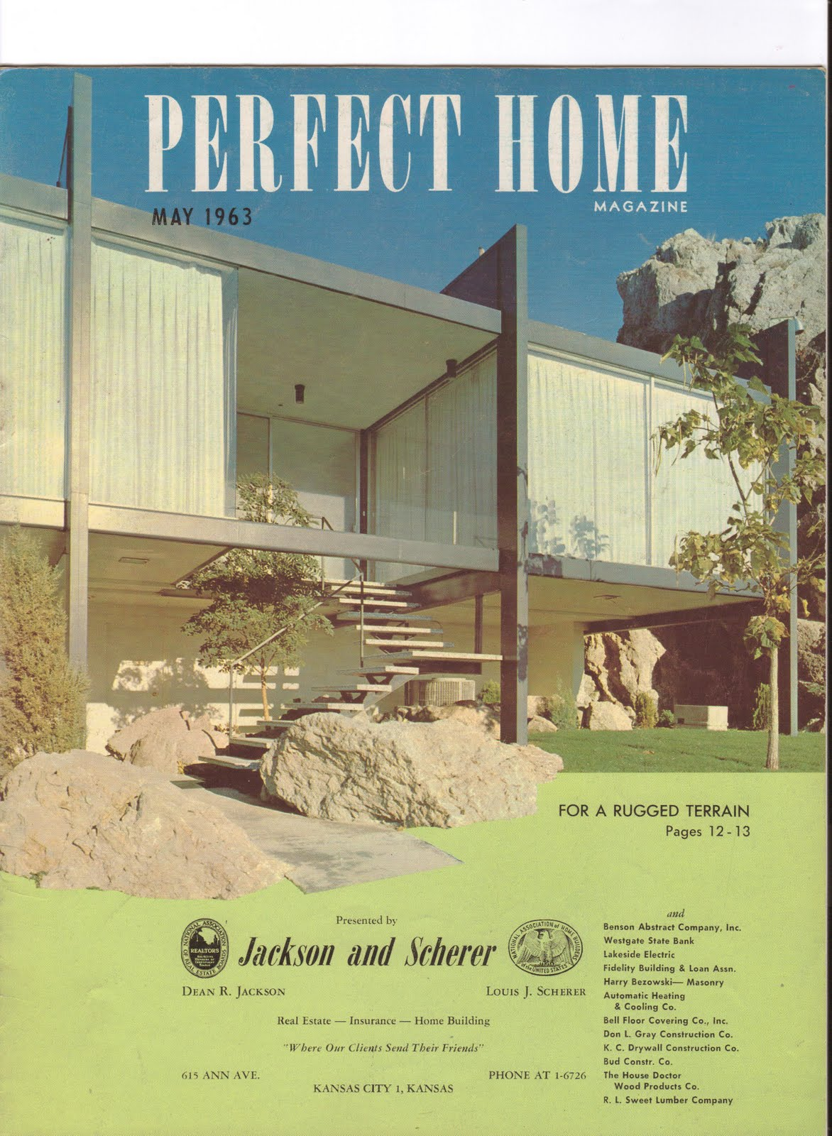 KCMODERN: Perfect Home- Real Estate Brochures From The 1960's