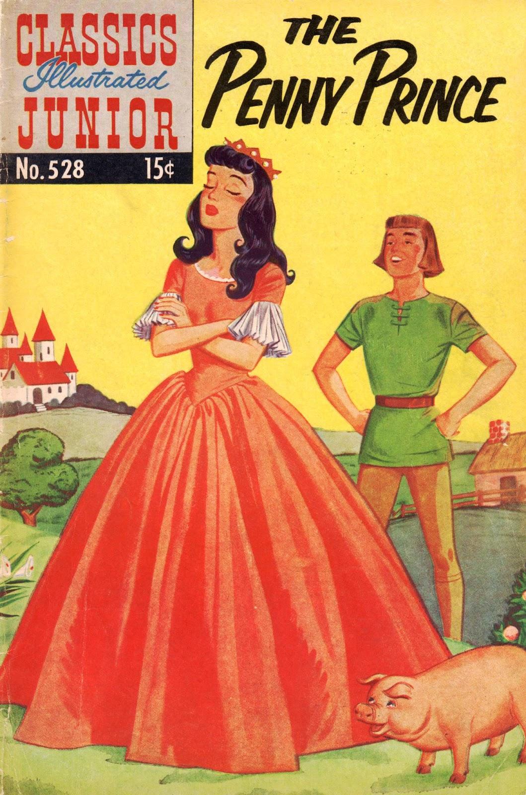Classics Illustrated Junior 528 Page 1