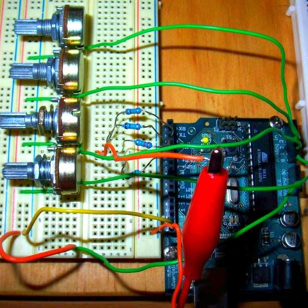 little-scale: Simple polyphonic synth with just arduino