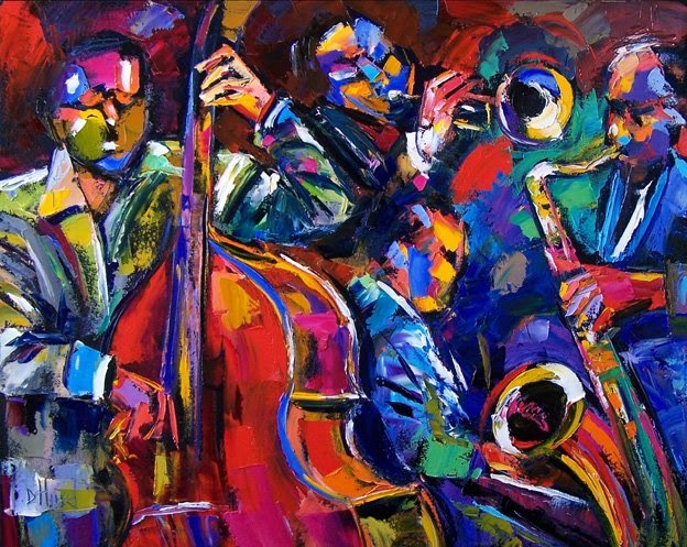 Debra Hurd Original Paintings And Jazz Art Abstract Jazz