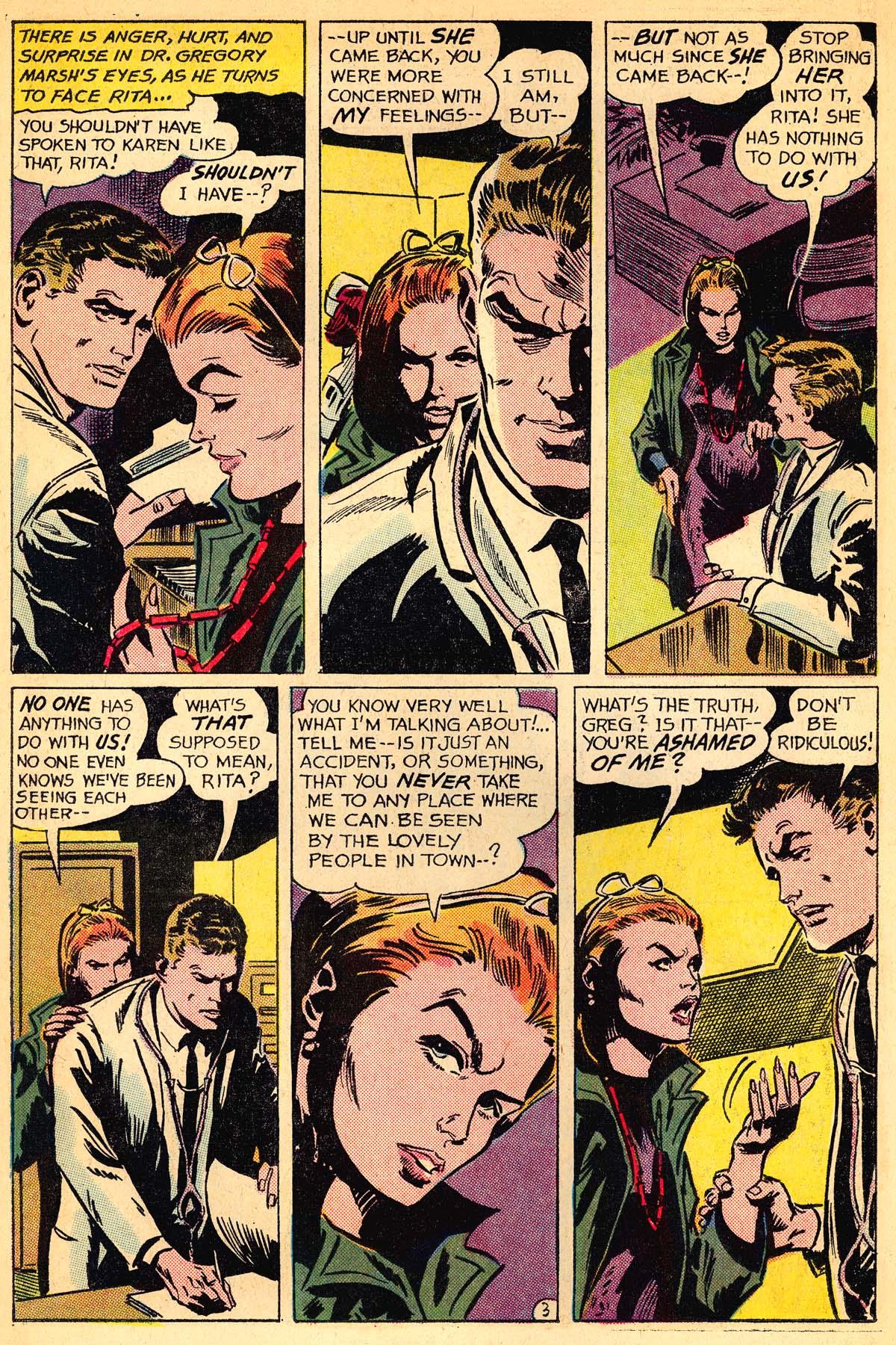 Read online Secret Hearts comic -  Issue #111 - 22