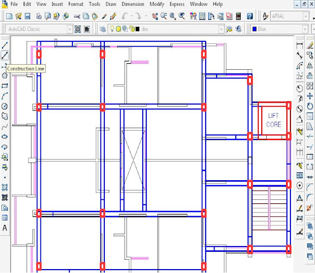 Import Drawing from AutoCAD to STAAD.Pro.