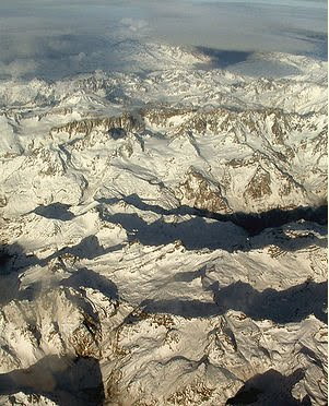 Andes Mountain rang (portion of the Andes between Argentina and Chile)