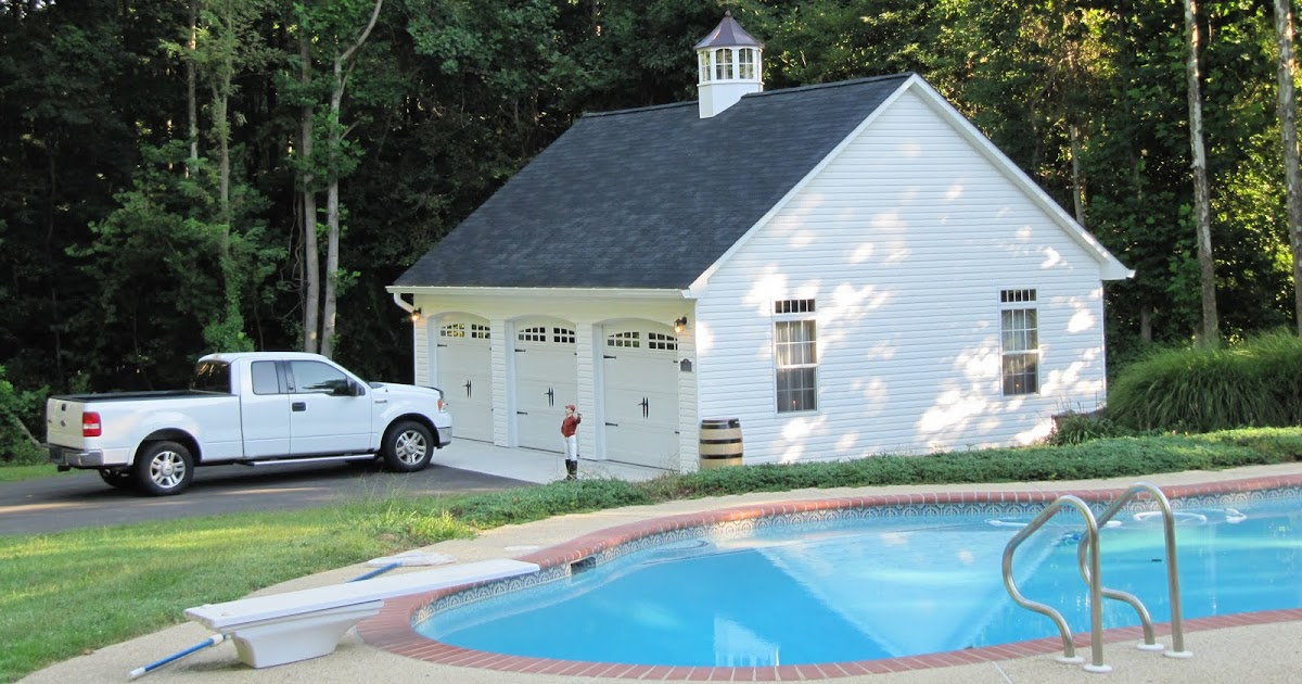 Two Car Garages From The Amish In Pa: Prefab Two-Car-Garages And PA Amish Built Sheds