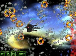MissionX free shoot'em up game