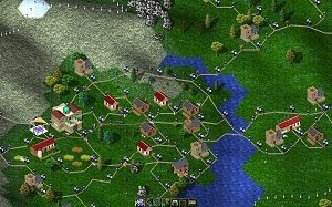 Widelands free strategy game