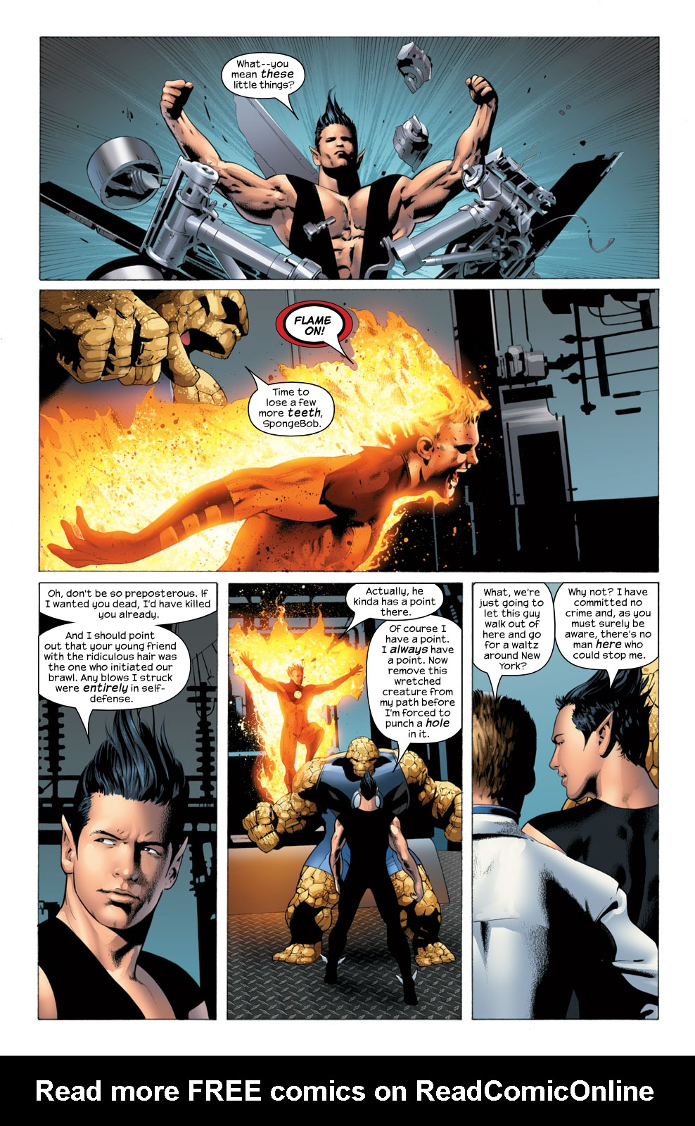 Read online Ultimate Fantastic Four (2004) comic -  Issue #25 - 13