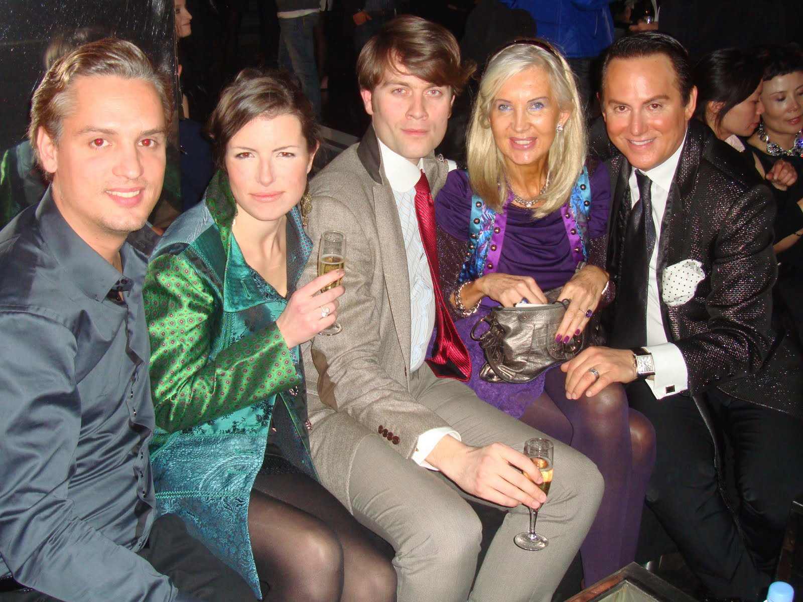 International luxury consulting barbara bui live party for Interieur chic parisien