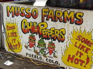 Sign at 2006 Pueblo Chili & Frijoles Festival