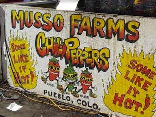 Sign at 2006 Pueblo Chili & Frijoles Festival