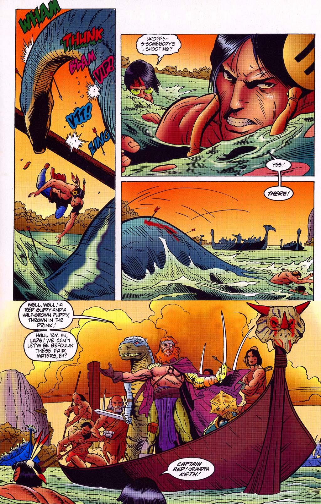 Read online Turok, Dinosaur Hunter (1993) comic -  Issue #45 - 14