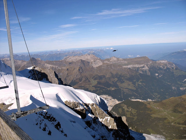 view from jungfrau