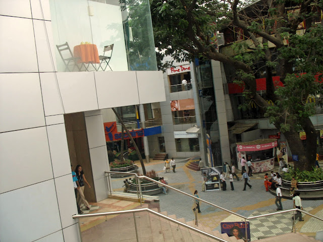 mall in India interior