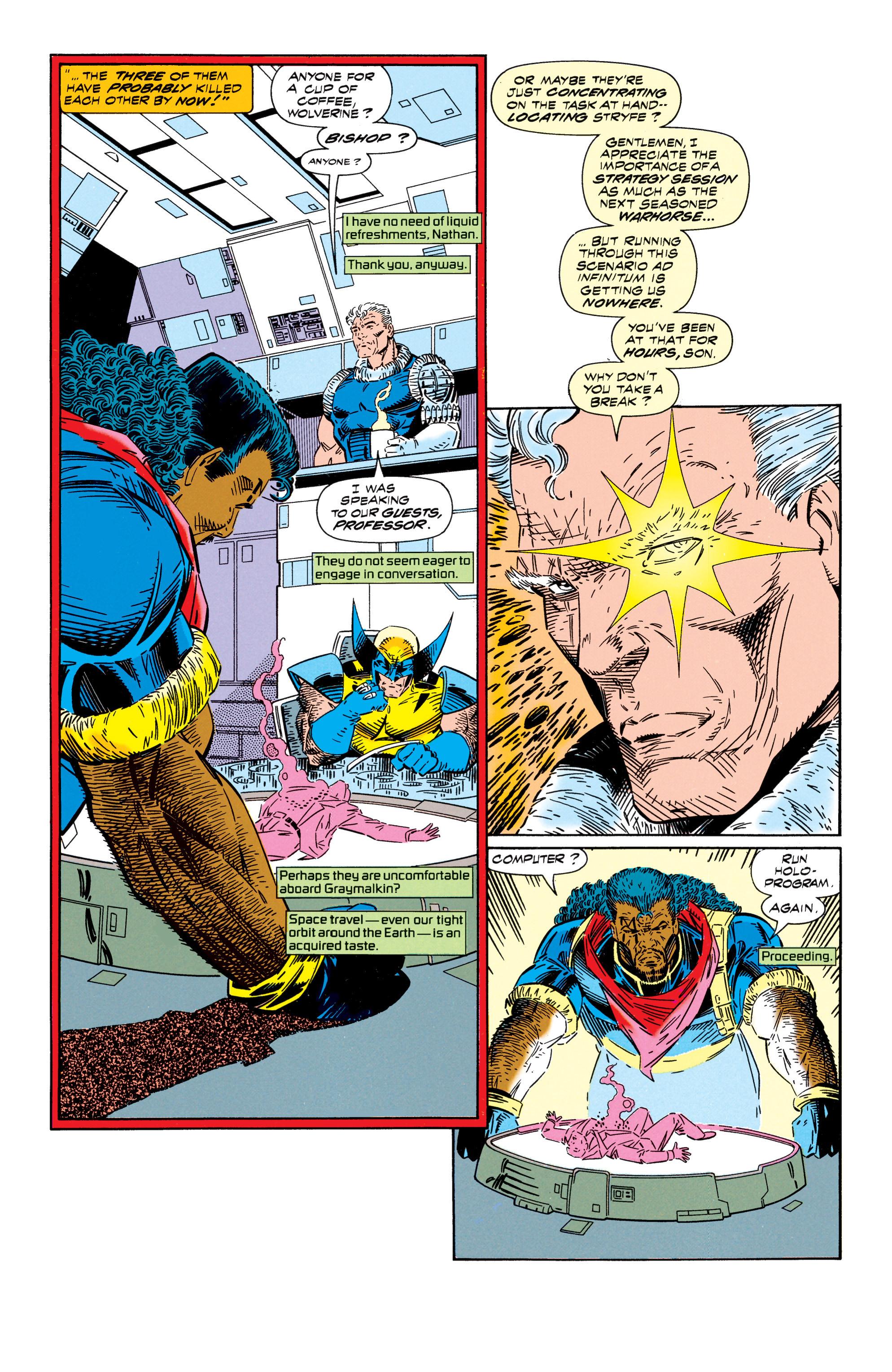 Read online Uncanny X-Men (1963) comic -  Issue #296 - 8
