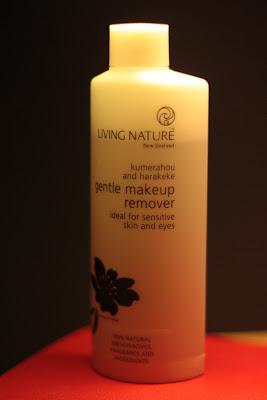 Living Nature Gentle Make-up Remover for Eye