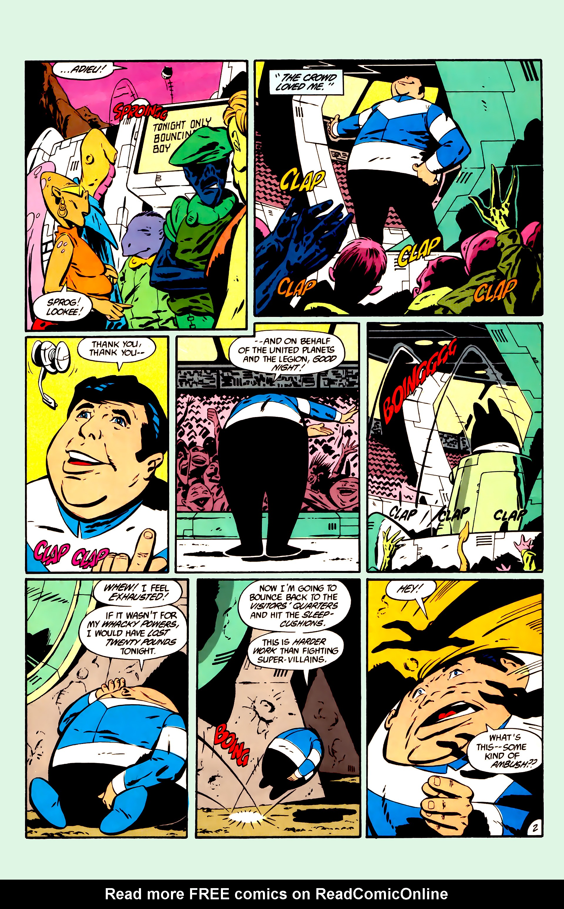 Legion of Super-Heroes (1984) 11 Page 15