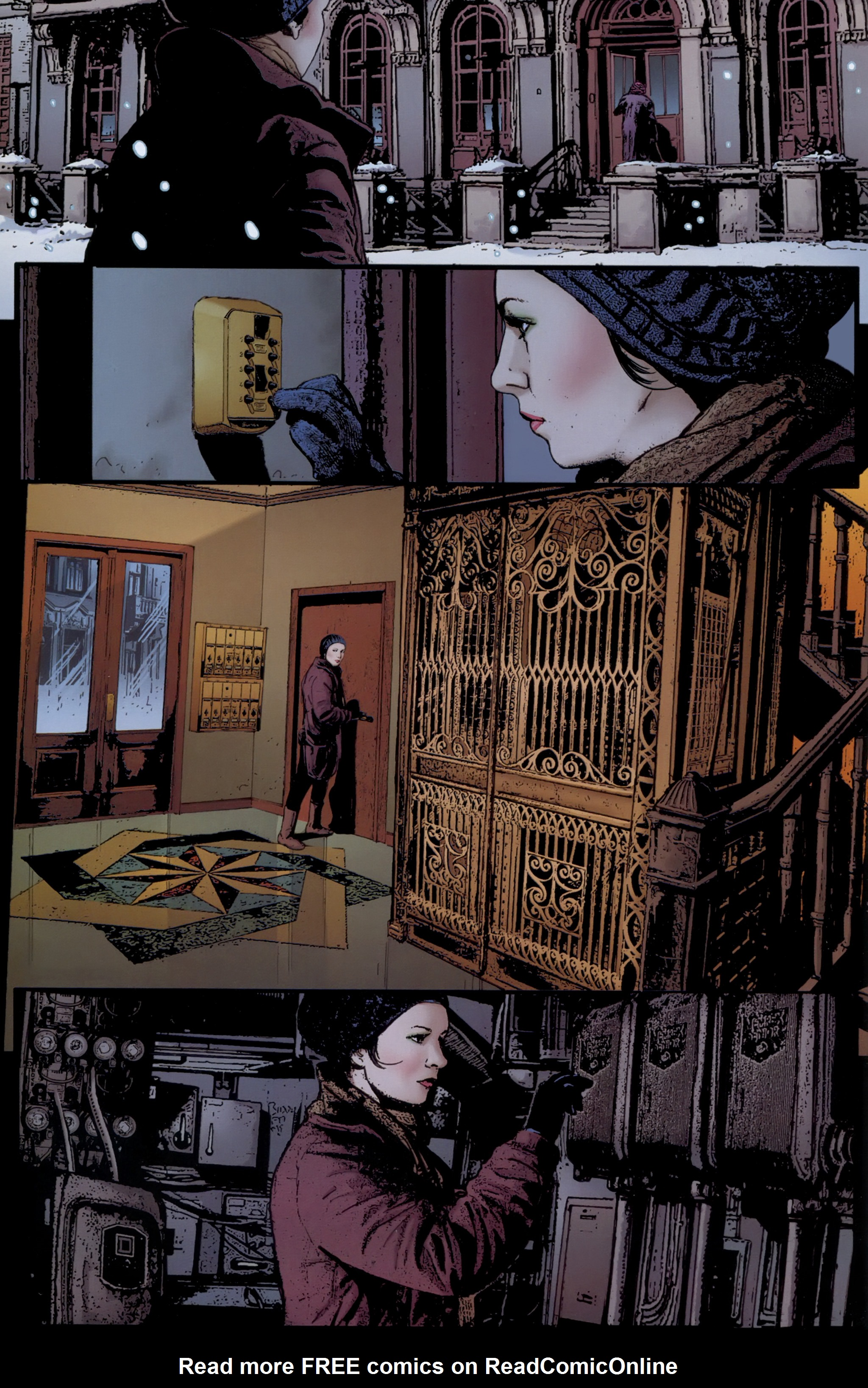 Read online The Girl With the Dragon Tattoo comic -  Issue # TPB 1 - 45
