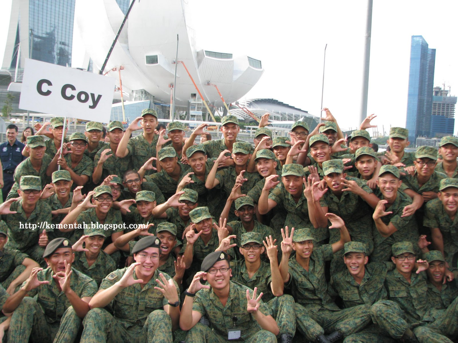 designee: National Service marches on: Basic Military