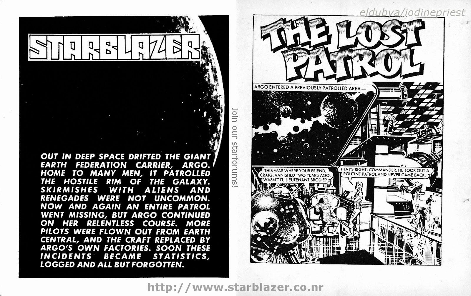 Starblazer issue 135 - Page 3