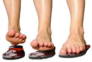0ad0ca1f33b7 Strapless Sandals that  Stick  with your feet