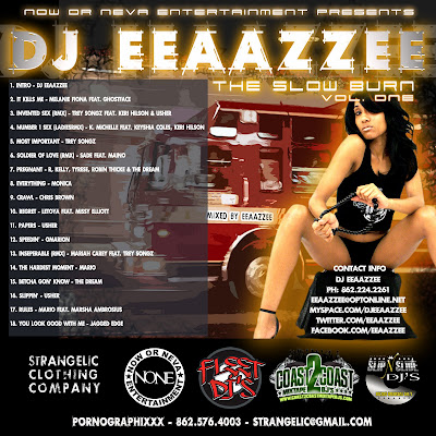 [The Fleet Djs] New Post : DJ EEAAZZEE THE SLOW BURN MIXTAPE