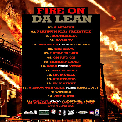 FIRE+ON+DA+LEAN BACK+copy LARGE AMOUNT Fire On Da Lean Vol.2 HOSTED BY DJ FLATLINE, DJ DELZ AND DJ STREETS