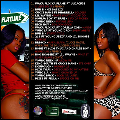 Dope+Runnaz+Musik+vol.2+back DJ Flatline Dope Runnaz Muzik Vol.2