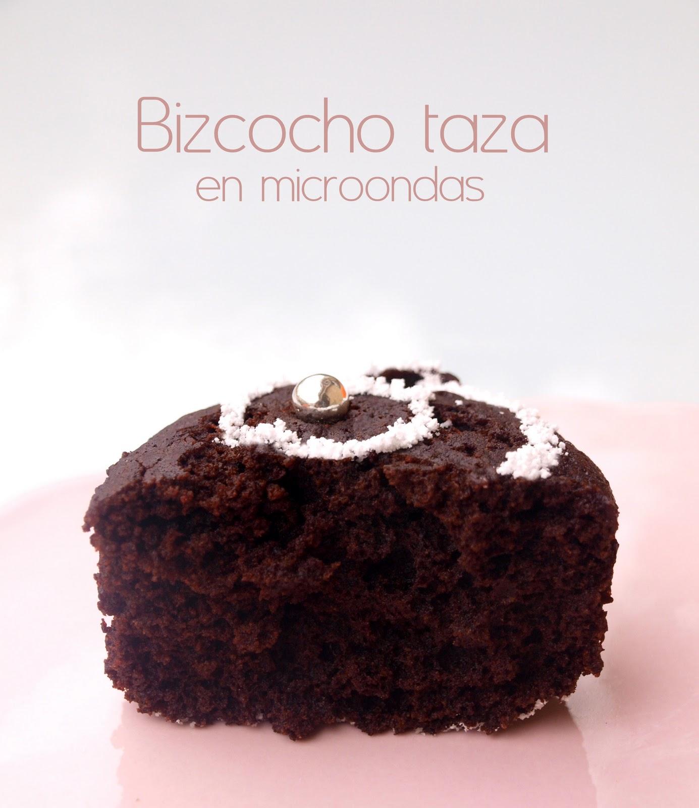 Bocados dulces y salados bizcocho taza en microondas - Bizcocho microondas 3 minutos ...