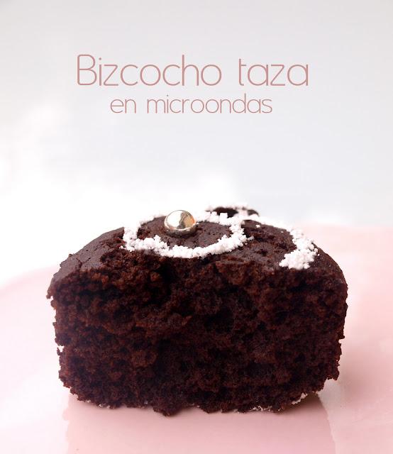 Bocados dulces y salados bizcocho taza en microondas - Bizcocho microondas isasaweis ...